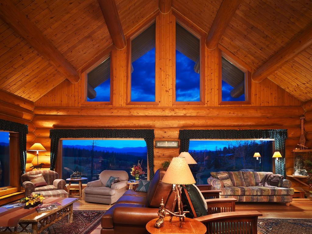 Patchwork living room