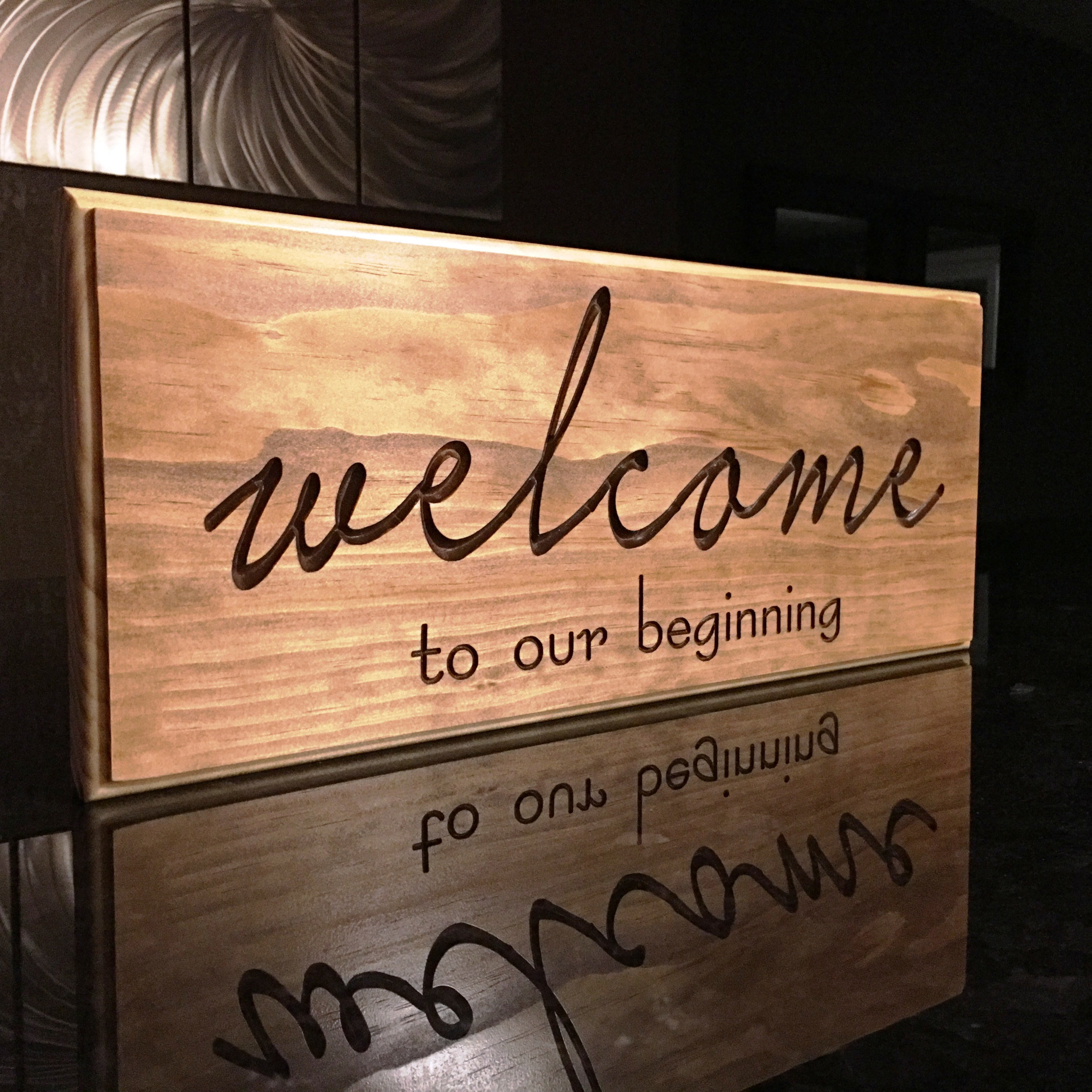 Welcome To Our Beginning Benchmarksignsandgifts Com