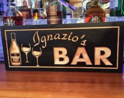 Personalized Bar Signs For Sale Wood And Custom
